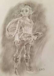 Zelda by superstarmario17