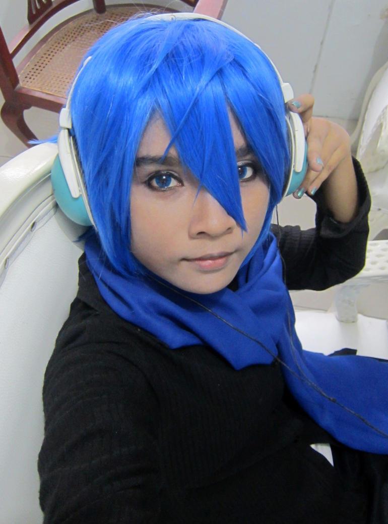Costest my blue wig by GureruRizuki