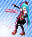 Appearance Miku Hatsune - Checkered DL