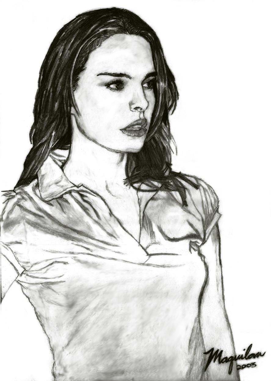 Natalie Portman 2 by drawrealisticface