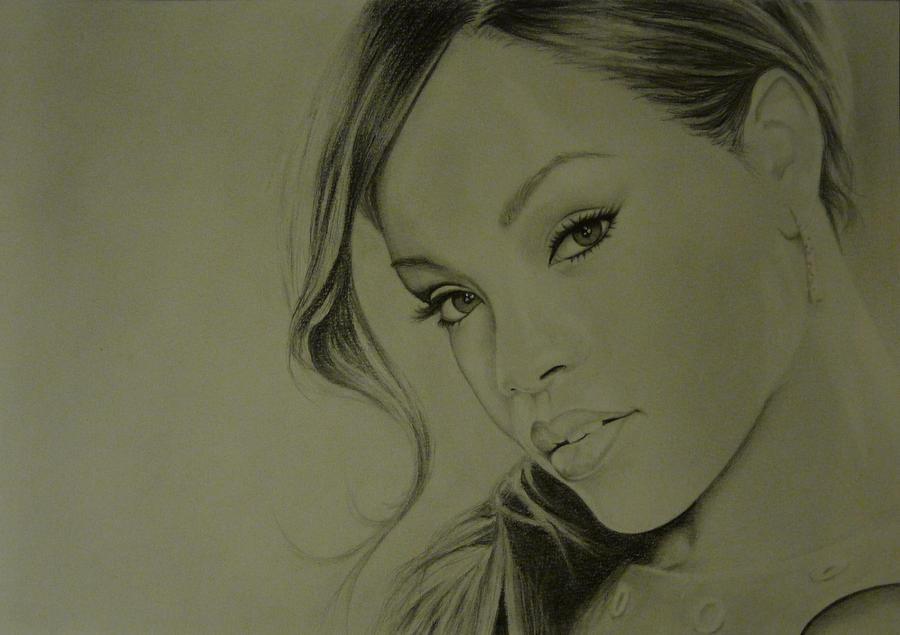 Rihanna by GhyselenBert