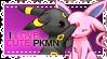 Stamp love cute Pokemon by NocturnDream