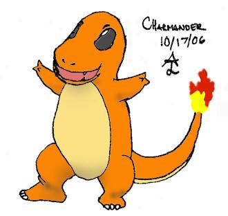 Charmander RAWR by EmeraldStag