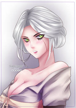 Cirilla of Cintra Fanart -The witcher 3