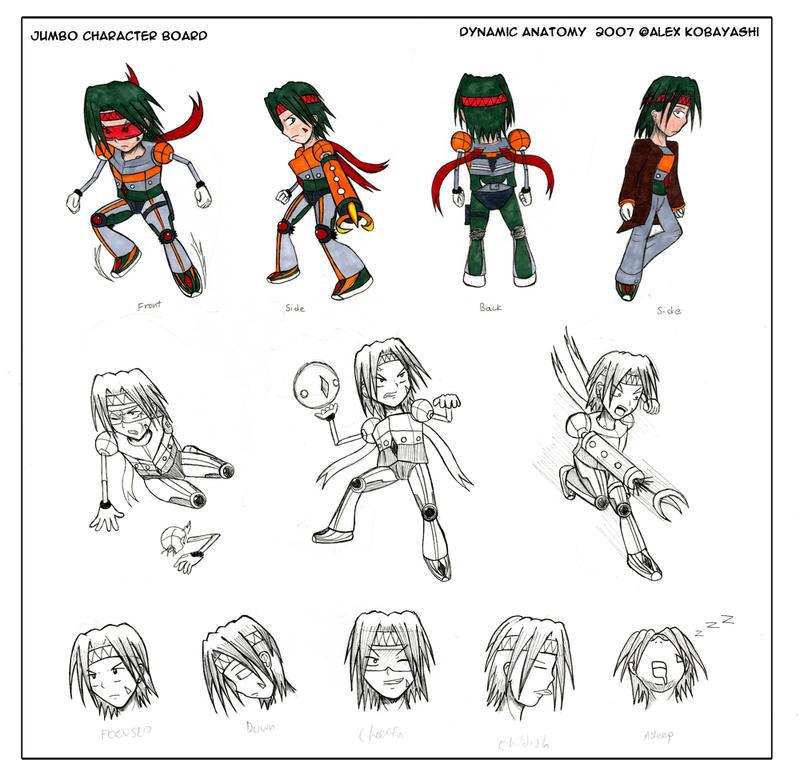 DynAna Character Board