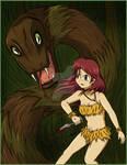 Jungle Girl Commission 3