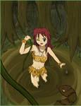 Jungle Gir Commission 4 CG