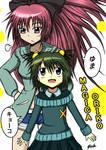 Oriko Magica: Yuma and Kyoko