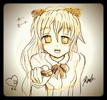 Katawa Valentine: Lilly by Kxela