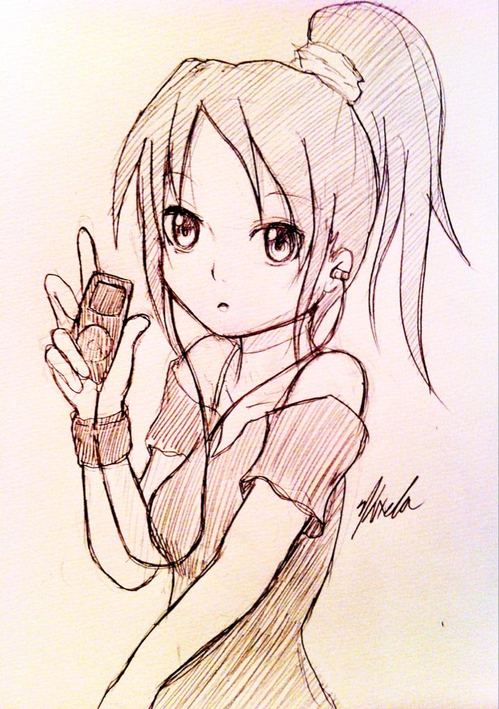 Anime Sketch 1 By Kxela On DeviantArt