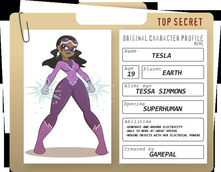 Tesla - Profile by gamepal