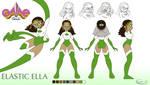Ella: Character Model Sheet by gamepal