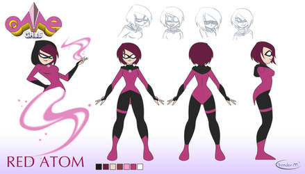 Red: Character Model Sheet by gamepal