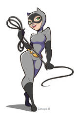 Catwoman by gamepal