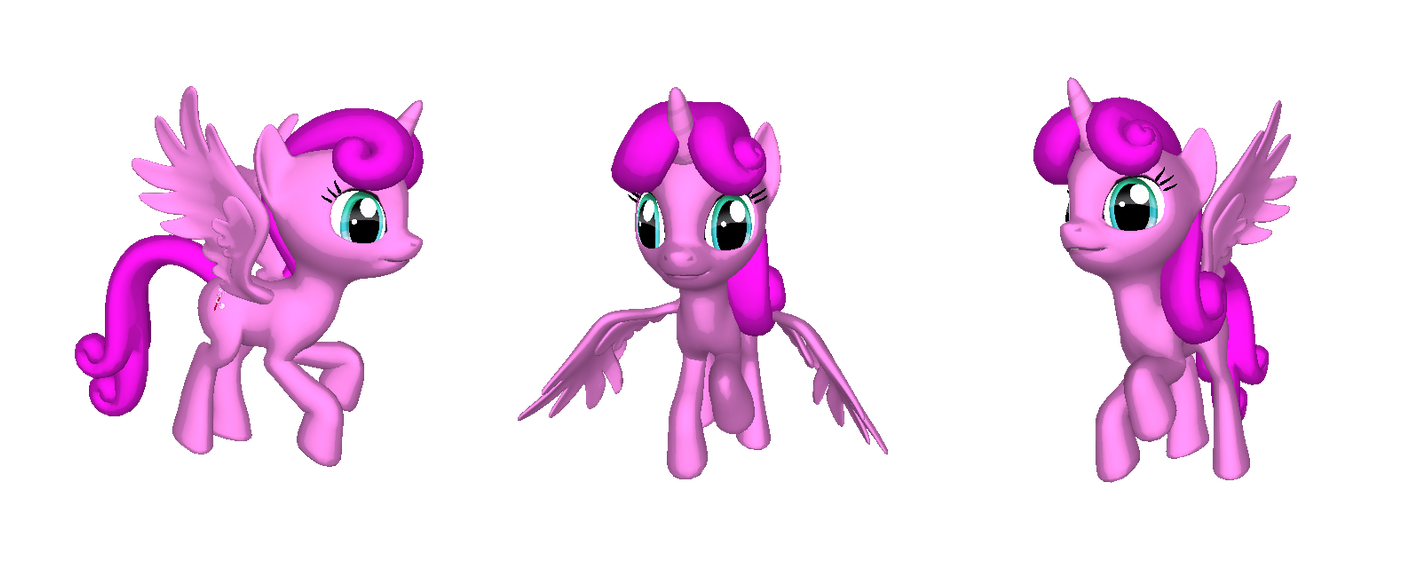 3D Pinkiebrush by Veen-Makes-Art