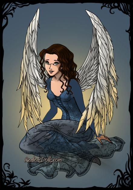 Nina as Angel by janianina