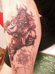 Thor Viking Tattoo by bAAAjk