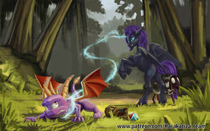 You dragon stop stealing gems and burning sheeps by Beltar1