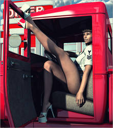 Cars 'n' Girls (2) by Sedorrr