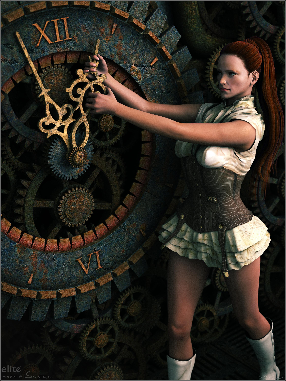 Susan - Steam Clock by Sedorrr