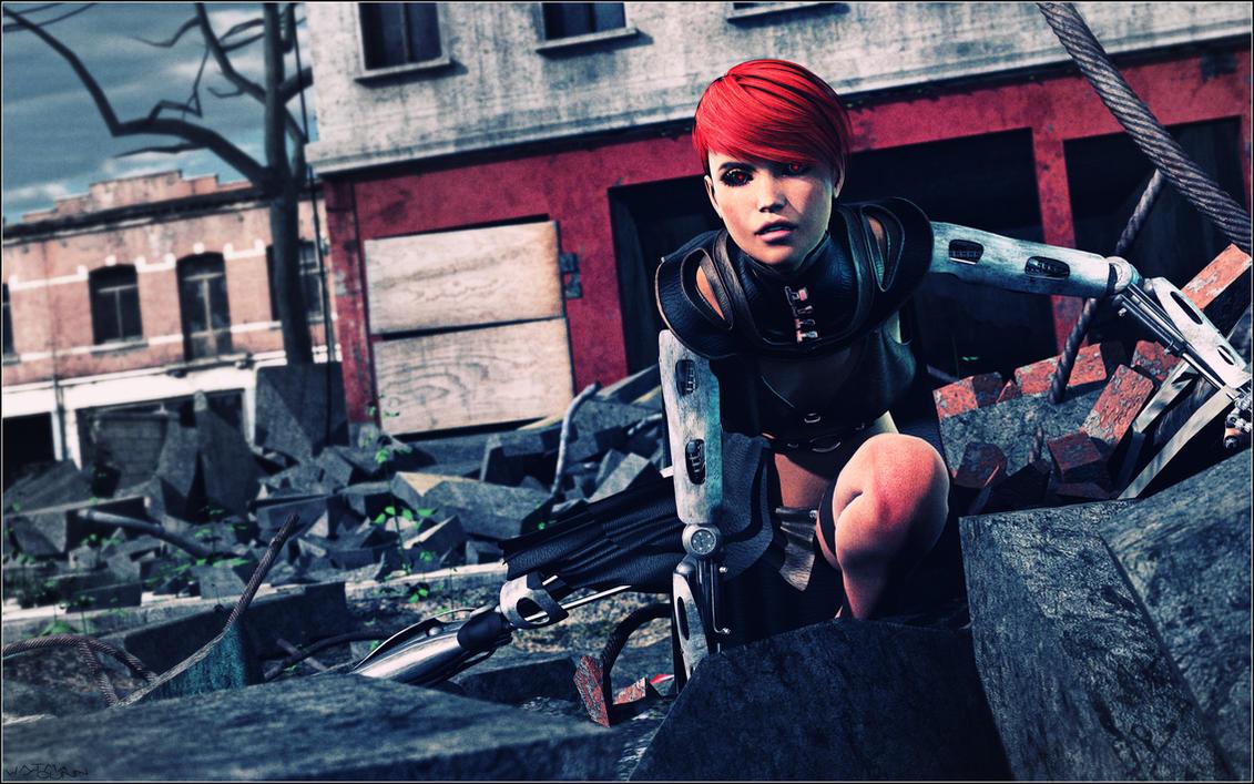 Cyborg Observer by Sedorrr