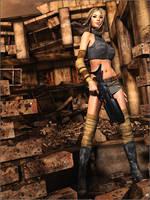 Destroyed City by Sedorrr