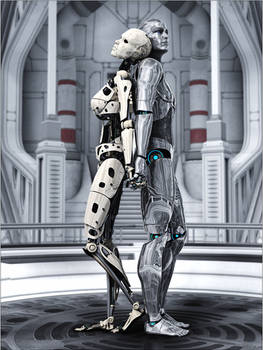 Cyborg Couple