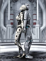 Cyborg Couple by Sedorrr