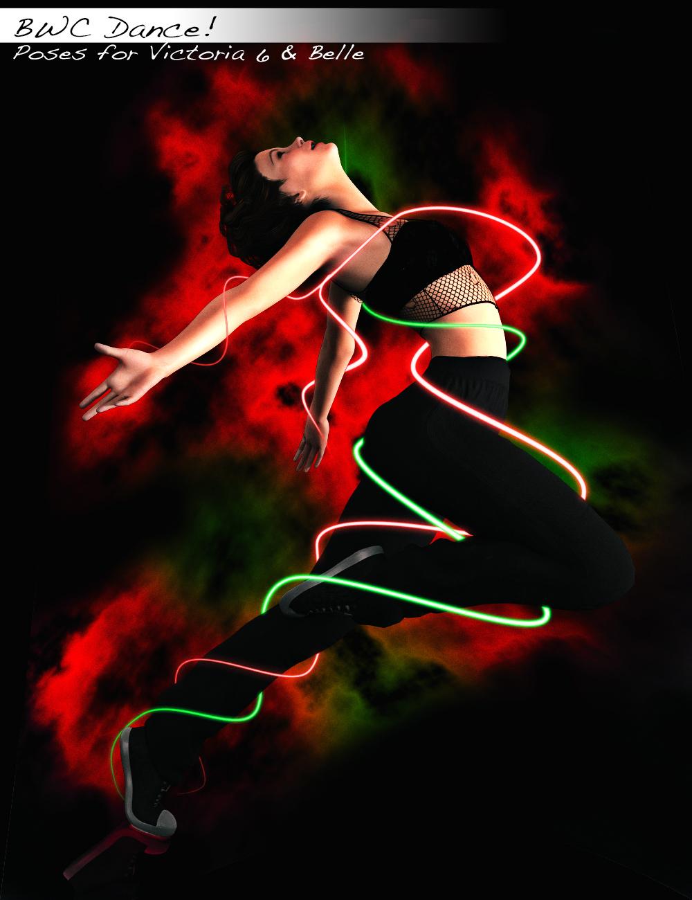 Daz3d Bwc Dance Poses G2f Victoria 6 Belle Popup 3 by Sedorrr