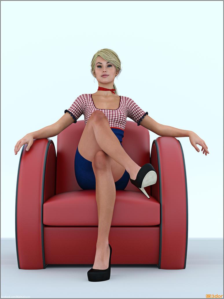 Arm Chair by Sedorrr