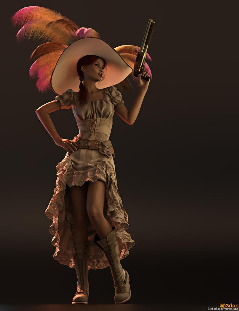 Gun Girl by Sedorrr