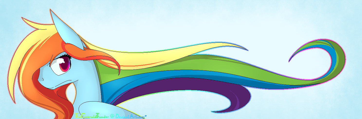 rainbow dash hair style hair rainbow dash by alphaaquilae on deviantart 6341