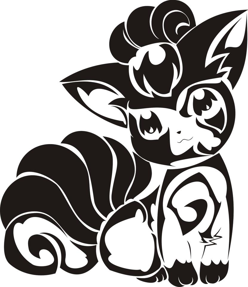 Tribal Pokemon Tattoo Ideas
