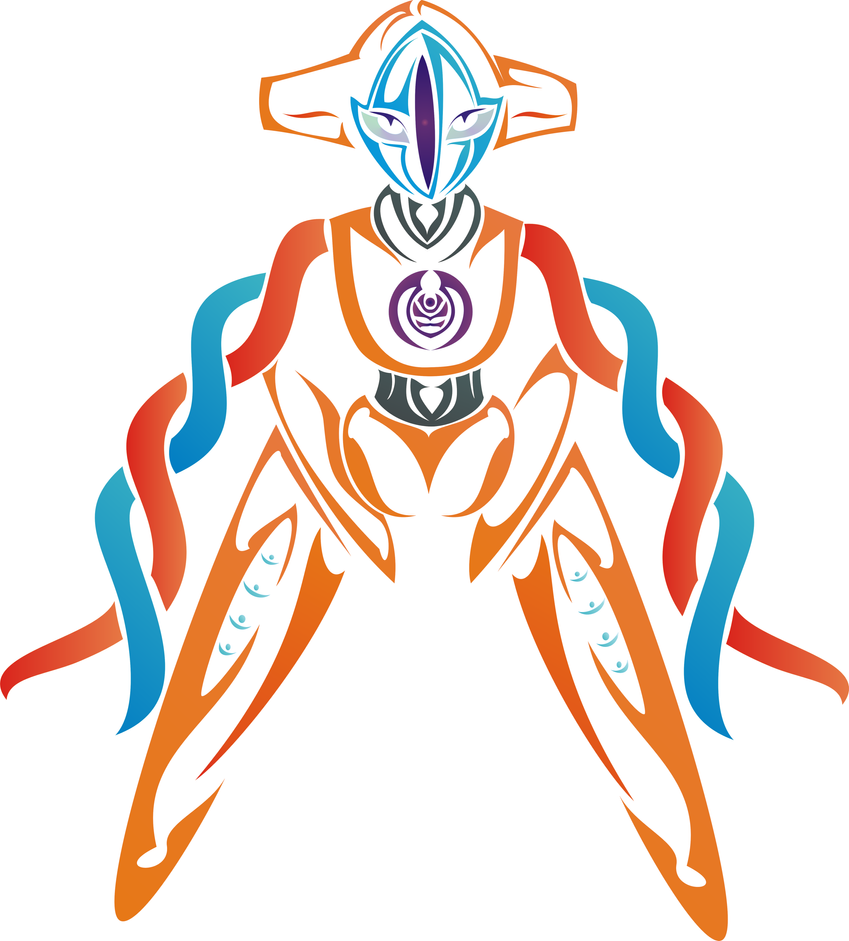 Pokemon coloring pages deoxys - Color Deoxys By Newtoniannocturn