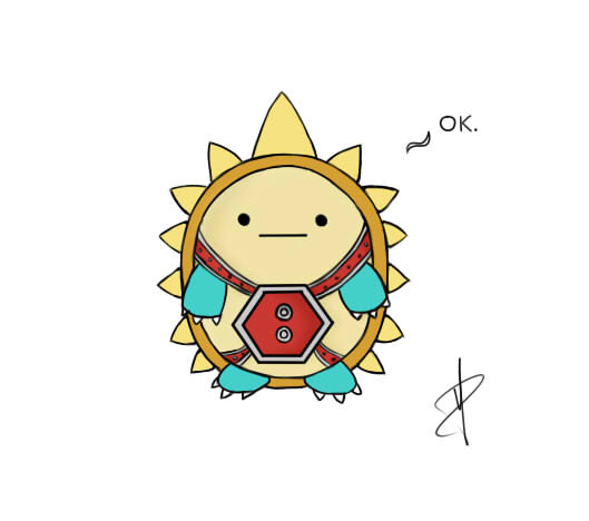 League of Legends - Chibi Rammus by Panatrix