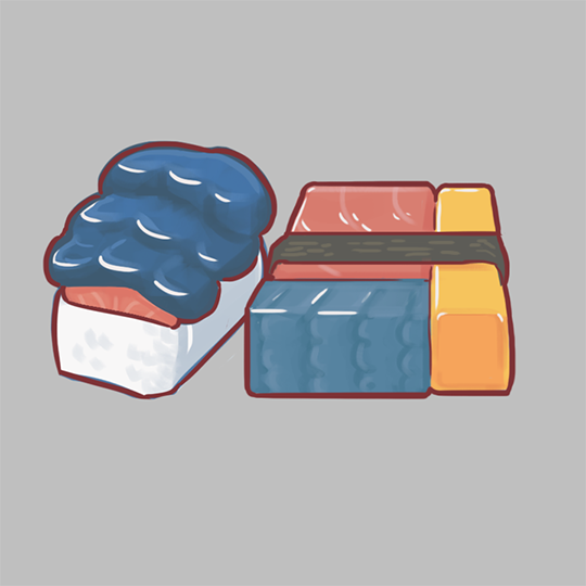 SketchDaily: Sushi (more pokemon) by AltheonBallistics