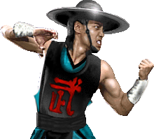 Kung Lao MKII Vs Stance by molim
