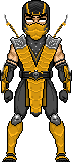Scorpion MK9 Alternate Outfit MICRO by molim on DeviantArt
