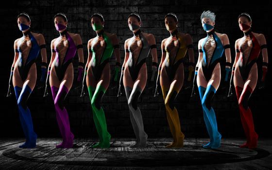 MK Female Ninjas Wallpaper