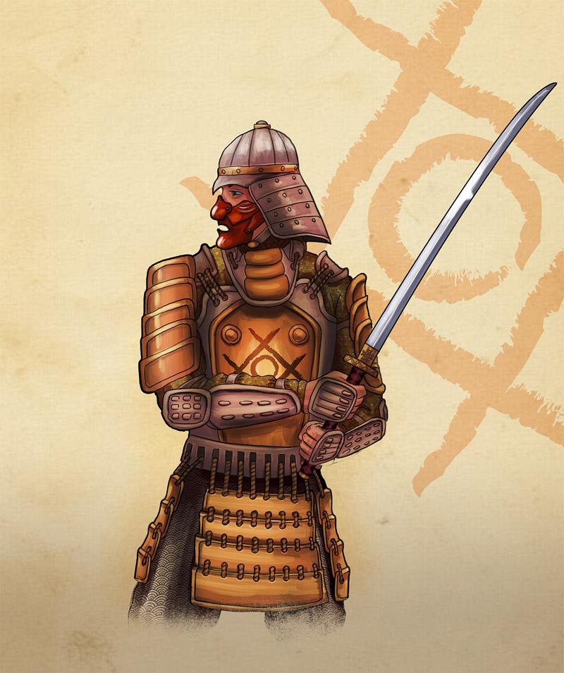 Future Samurai Concept Samurai concept for game by