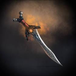 Fantasy dagger by Vadich