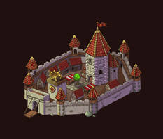 Medieval town (map object) by Vadich