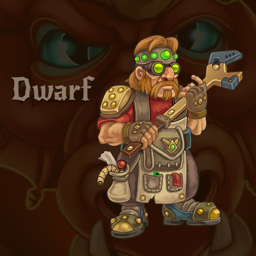 Dwarf, for Dragon's Dungeon RPG by Vadich