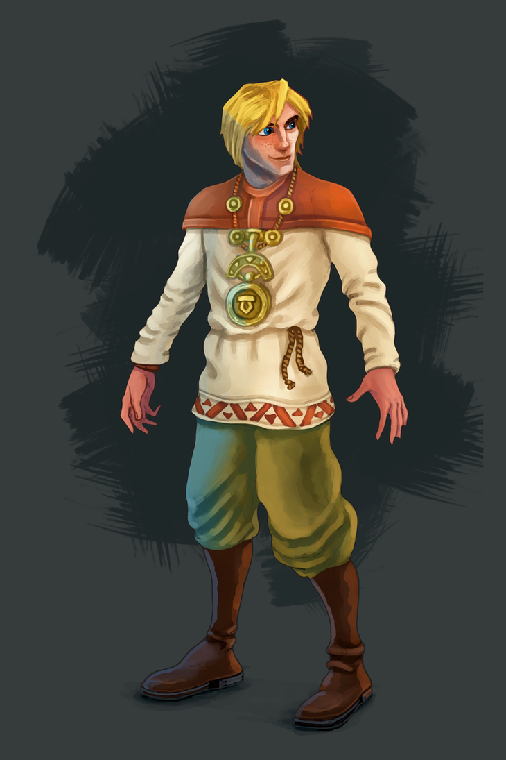 Character concept by Vadich