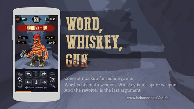 Word, Whiskey, Gun