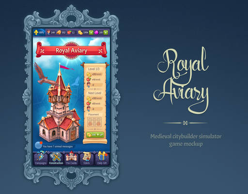 Royal Aviary [game mockup]