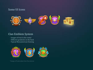 Icons and Clan Emblems System