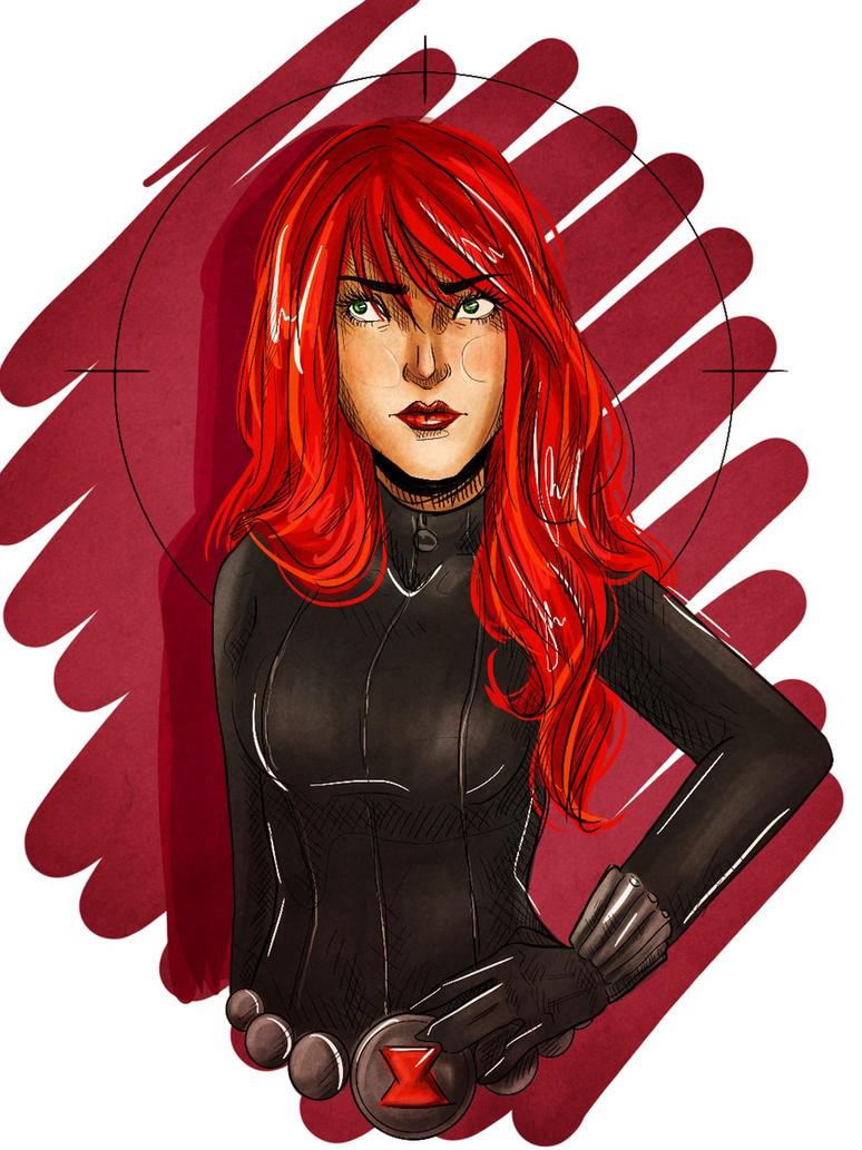 Black Widow by julie-pond
