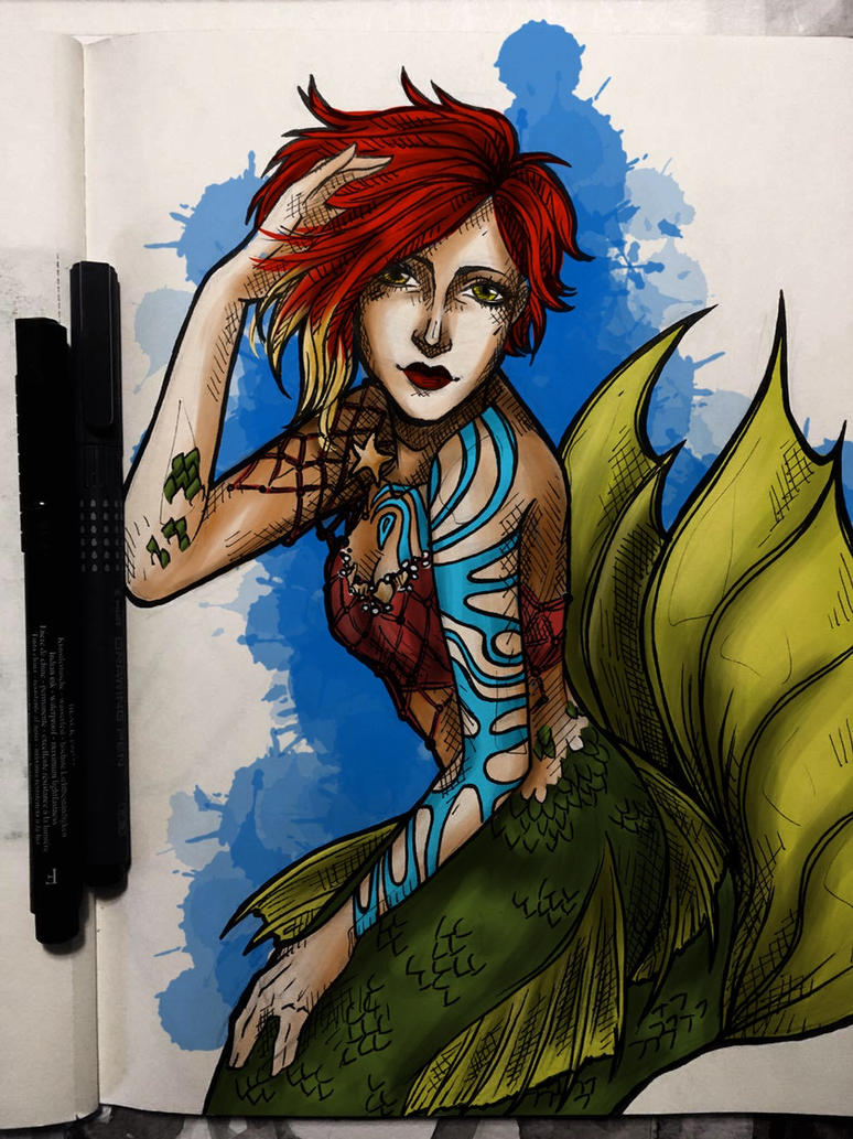 The Siren by julie-pond