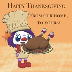 Mindy's Thanksgiving!